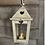 Thumbnail: Wood and glass Lantern with cut out heart