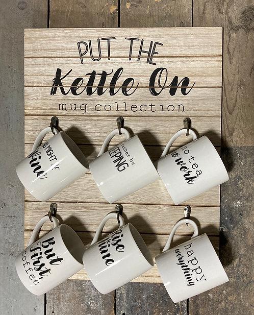 Put the kettle on mug
