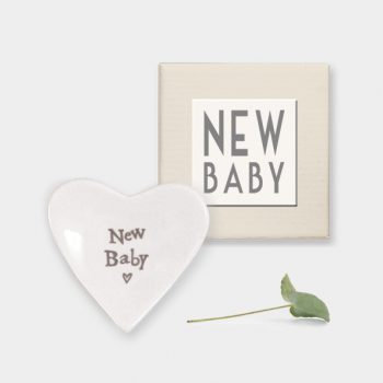 New Baby Heart dish small, boxed
