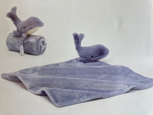 Wilbur Whale Soother Jellycat