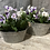 Thumbnail: Zinc oval planters with handles from £5.99