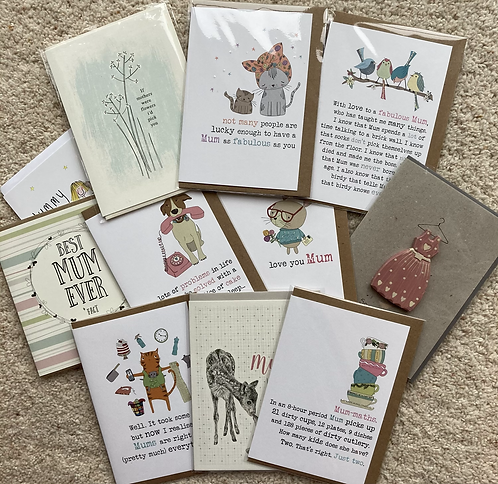 Mum cards for any occasion (prices vary)