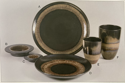 Bronze age hand painted ceramics plates, bowls, vase, from 9.99