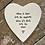 Thumbnail: Porcelain Heart Coaster