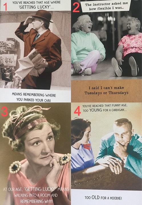 Humour Birthday Cards