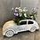Thumbnail: Metal car planter pot 38x15cm