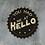 Thumbnail: Black Plaque - You had me at hello 11.5cm
