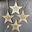 Thumbnail: Hanging Porcelain Star - love