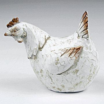 Chicken sculpture 14cm