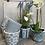 Thumbnail: Old Style Dutch pots - teal green