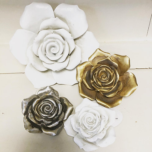 Wall hanging Rose in 3 size and colour options