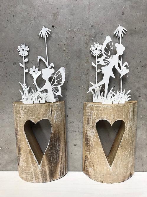 Magical fairy on Heart 30cm