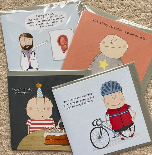 Humorous male cards