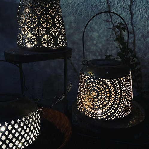 Solar antique lanterns from £14.99