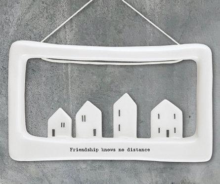 Porcelain picture - Friendship knows no distance
