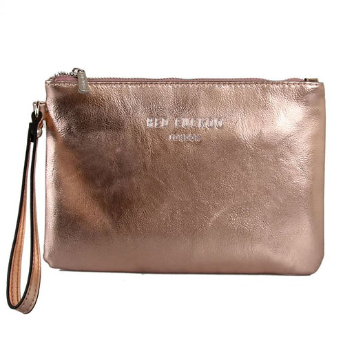 Metallic Clutch Bag, in grey, blue, pink & rose gold from Red Cuckoo