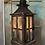 Thumbnail: Garden Wood & Glass Lantern with acorn detail