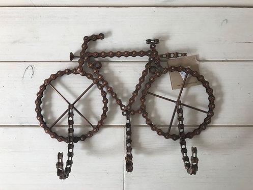 Bike Chain, 3 Hooks