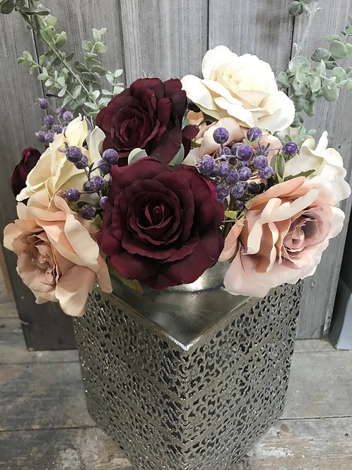 Harmony Rose 43cm silk flowers