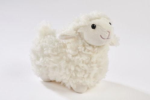 White Plush Lamb