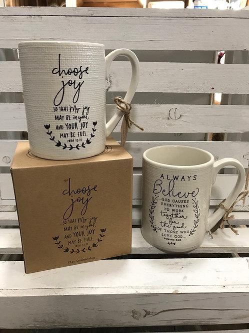 Boxed ceramic Mug
