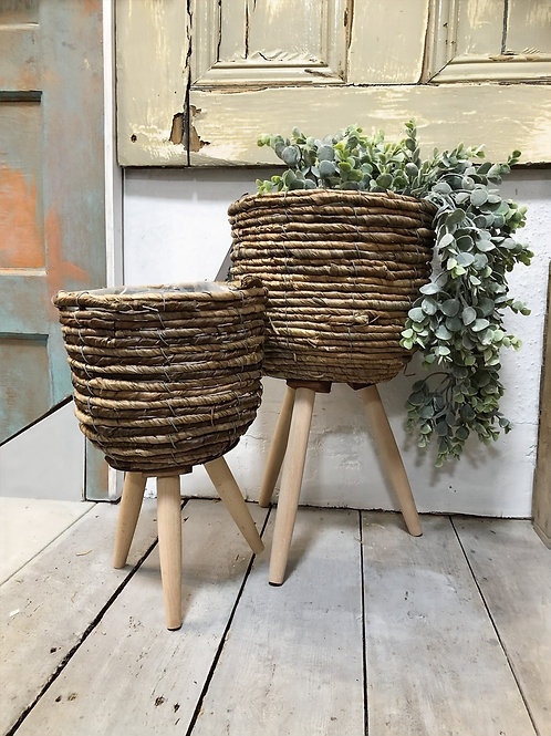 Basket Planter on Legs (3 Sizes Available) from £11.99