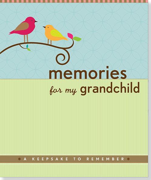 Memories for my Grandchild Organiser