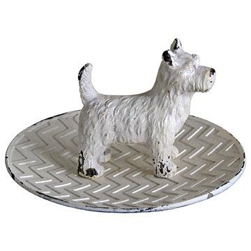 Scottie Dog Dish Trinket/Jewellery Holder