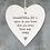 Thumbnail: Porcelain Hanging Heart - child / grandparent