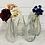 Thumbnail: Glass bottle vase 24cm