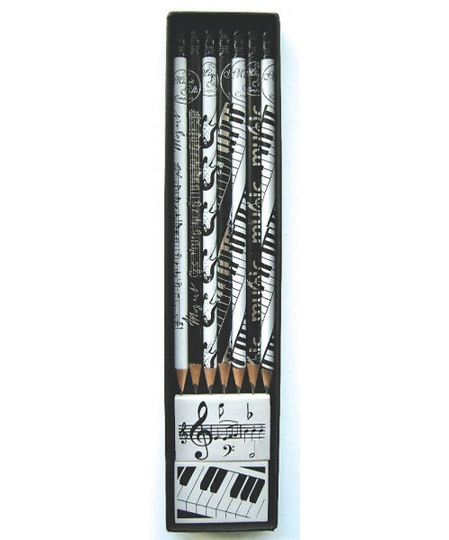 Music Pencils Gift Set