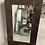 Thumbnail: Rectangle Garden mirror with acorn detail