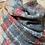 Thumbnail: Tartan scarf in red & grey or orange & green