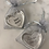 Thumbnail: Small heart dish in pouch, best mum, you are loved 5x5cm