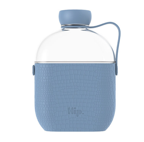 Hip flat Water bottle 22oz/650ml, environmentally friendly
