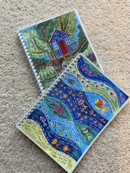 Hannah Dunnett notebook blank pages