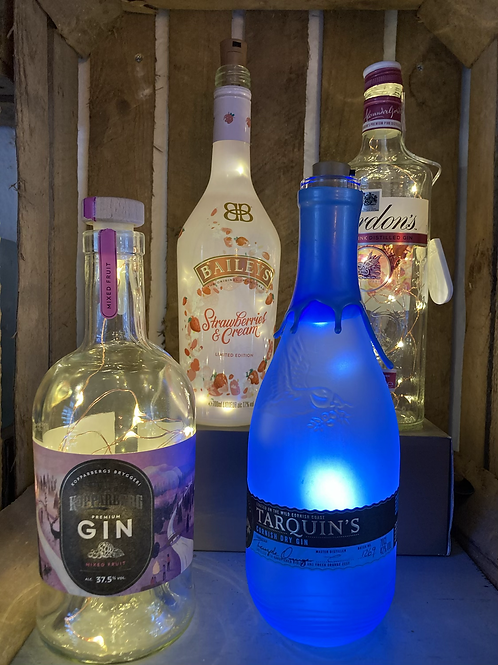 Bottles for lights (lights sold separately) prices vary £3-9.50