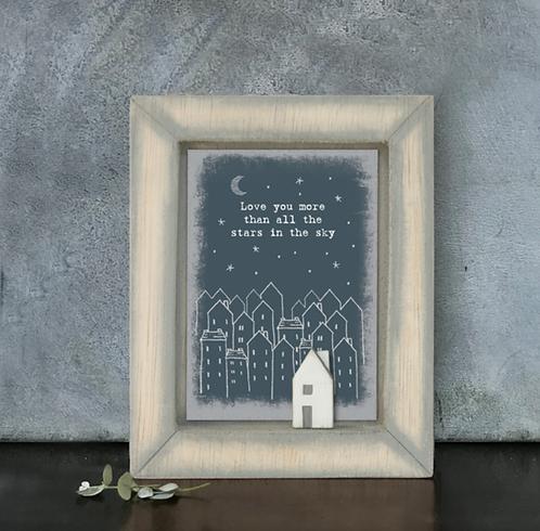 Box frame - Love you more