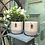 Thumbnail: White and Grey Ceramic Indoor Planter
