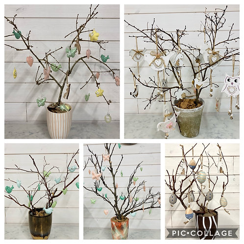 Branch Trees for hanging decorations - see description