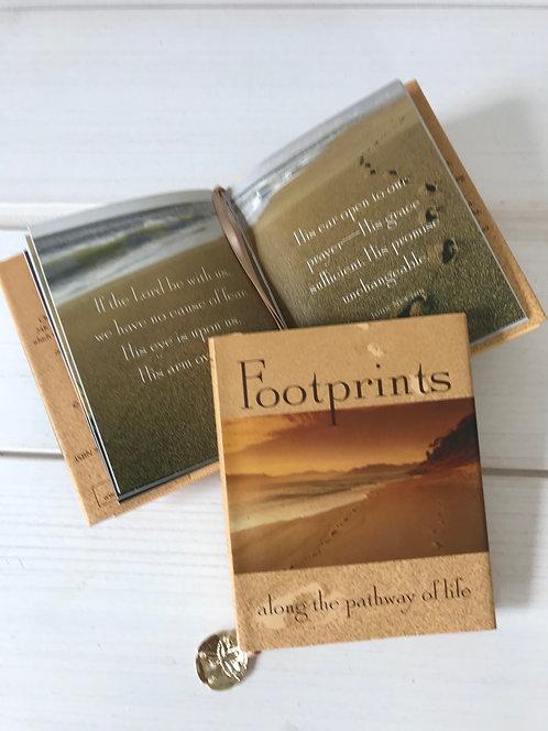 Pocket Footprints book 10x8.5cm
