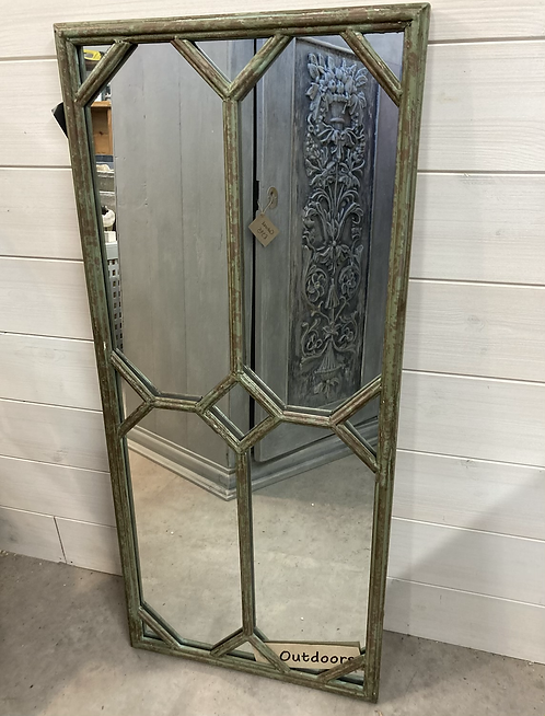 Lorient rectangle garden Mirror