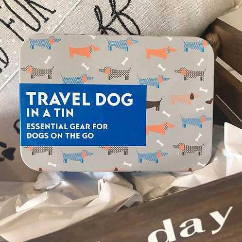 Travel Dog Tin