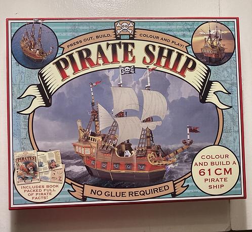 Press out & build Pirate Ship 61cm
