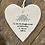 Thumbnail: Porcelain Hanging Heart - encouraging