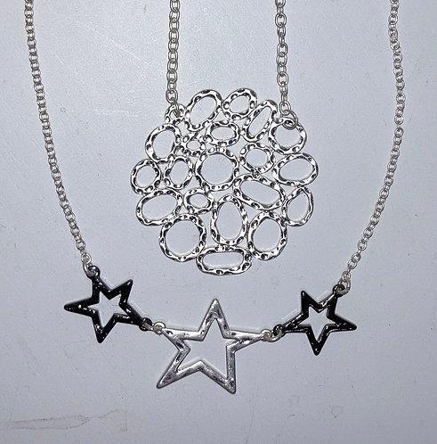 Costume jewellery- short necklaces