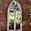 Thumbnail: Gothic Wooden Garden Mirror 75x35cm St Andrew