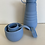 Thumbnail: Collabsible, reusable, ultra-portable bottle. Blue Stojo 20oz/590ml