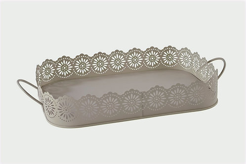 Lace  Metal Tray