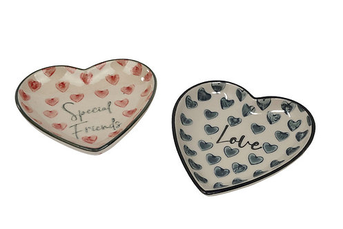 Heart Dish - 2 designs £3.99 each